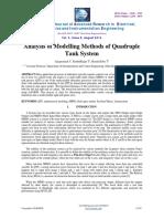 analizing methods 4 tanks