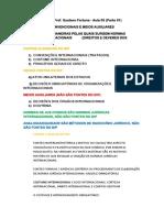 Fontes Extraconvencionais e Meios Auxiliares