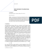 The UK Primary Standard Calorimeter for Photon Beam Absorbed Dose Measurment