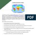 Clasificación Climática de Flohn