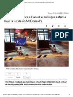 Facebook_ Conoce a Daniel, El Niño Que Estudia Bajo La Luz de Un McDonald's