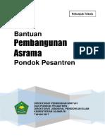 Juknis Bantuan Pembangunan Asrama Pondok Pesantren 2017 --Final