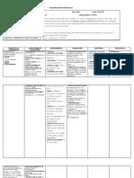 Planificacion Unidad Cuarto  Año Bàsico Ingles 2013.docx