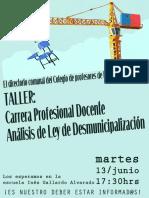 Afiche Cdp 1