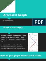 Arccos(x) Graph.pptx