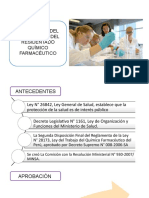 Reglamento Residentado Quimico Farmaceutico