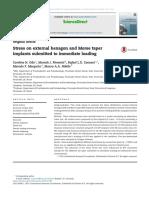 stres en implantes hexagono interno