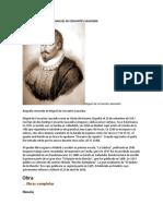 Biografía Resumida de Miguel de Cervantes Saavedra