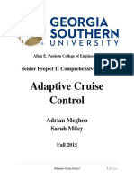 adaptive cruise control report