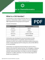 CAS Registry Number-Metamolecular