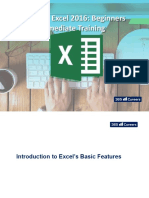 Introduction to Excels Basic Features