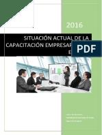 Situación Actual de La Capacitación Empresarial en El Perú (Terminado)