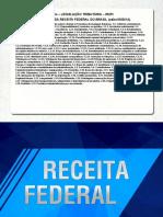 Sgc Receita Federal 2014 Analista Tributario Legislacao Tributaria 13 a 16