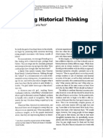 Seixas, Peter. Teaching Historical Thinking