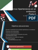 Trastornos Hipertensivos en El Embarazo Parte 2