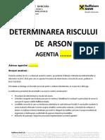 Evaluare Risc de Arson