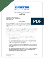 El Abra Conveyor CV205 Test Report