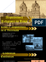 Arquitectura Religiosa Lima 6
