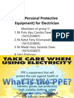 PPE (Personal Protective Equipment) for Electrician.pptx
