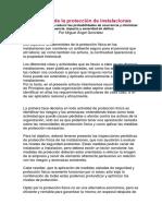 Decálogo de La Protección de Instalaciones