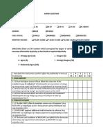 Questionnaire 03232017