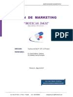 Plan de Marketing d&m