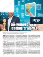 Banking Frontier - Energizing digital lending for MSMEs