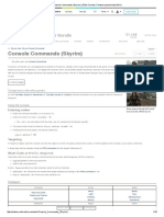 Console Commands (Skyrim) _ Elder Scrolls _ Fandom Powered by Wikia