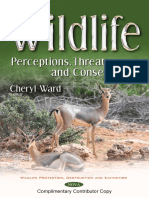 Wildlife, Perception, Threat and Conservation