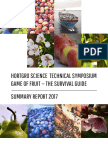 Game of Fruit 2017 Summary Report