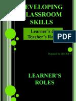 Developing Classroom Skills