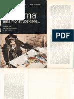 D'AGOSTINHO, Carmelo. Arte moderna, uma monstruosidade.pdf