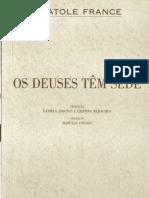FRANCE, Anatole. Os Deuses tem Sede.pdf