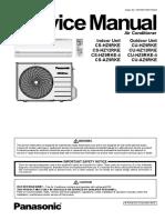 Panasonic CS-HZ9RKE-HZ12RKE Sevice Manual Eng