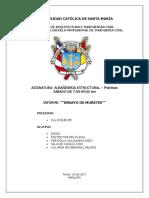Informe de Muros -Albaliñeria