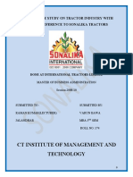 A Project Report on Sonalika