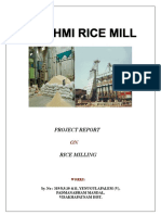 Project Report on Rice Mill