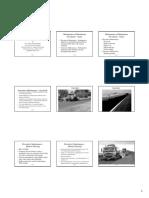 Kandhal Lecture 10 on  Maintenance of Bituminous Pavements (Handouts)