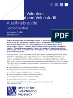 VIVA - The volunteer investment and value audit
