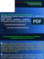 AL 121 Procedura Inspectie Fondul de Mediu