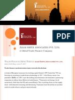 Trade Finance News Trends By Adam Smith Associates Pvt Ltd