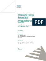 1. Propuesta Tecnica Economica