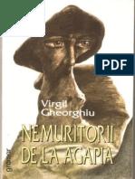 Virgil Gheorghiu - Nemuritorii de La Agapia PDF