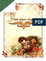 Carte Citate de Dragoste Design2