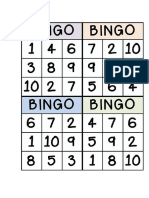 Bingo Nombres