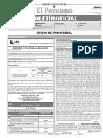Diario Oficial El Peruano, Edición 9736. 24 de junio de 2017