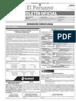 Diario Oficial El Peruano, Edición 9735. 23 de junio de 2017