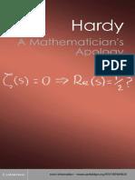 A Mathematicians Apology - Hardy