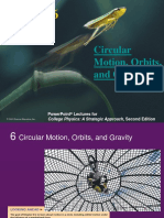 Circular Motion, Orbits, And Gravity