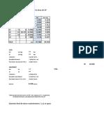 F V9. Soporte Linea 34 Datos Dimensiones
